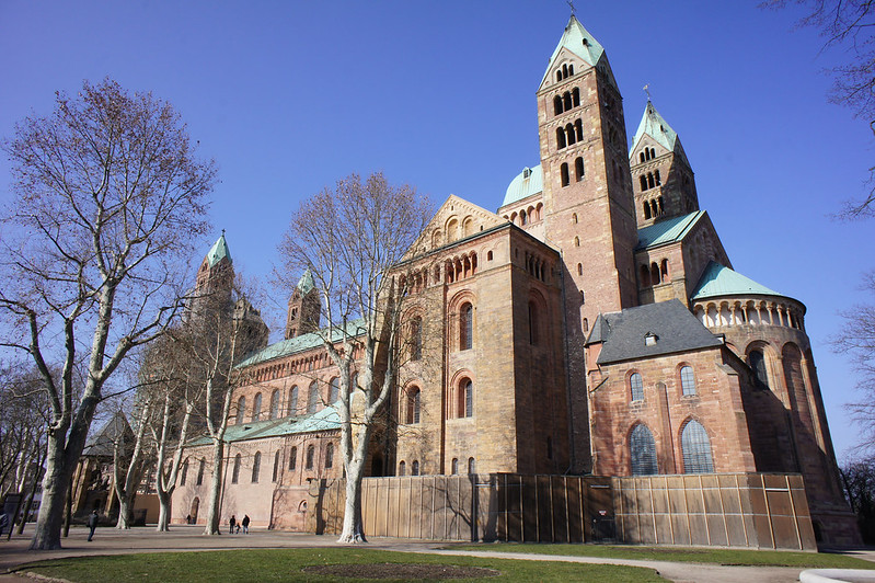 The Lost Fort: The Cathedral in Speyer - Architecture
