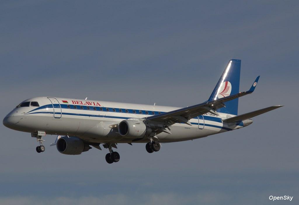 Belavia Embraer ERJ-175LR (ERJ-170-200 LR) EW-340PO (cn 17000350)