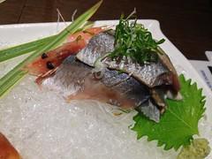 日本秋刀魚炙刺身