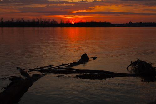 sunset evansville