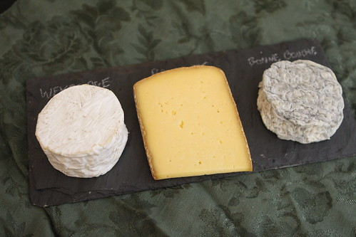Vermont Cheese Plate: Weybridge, Pawlet, and Bonne Bouche