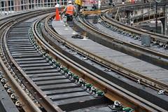 Hubbard St. Curve Track Renewal