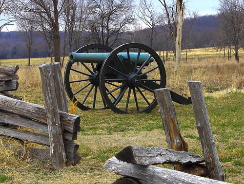 Artillery Piece - Pea Ridge National Military Park, Northwest Arkansas