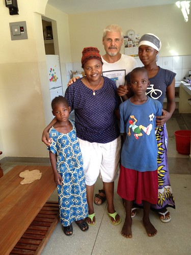 Papa introduces Kaleso & Amina to Mama Lucy