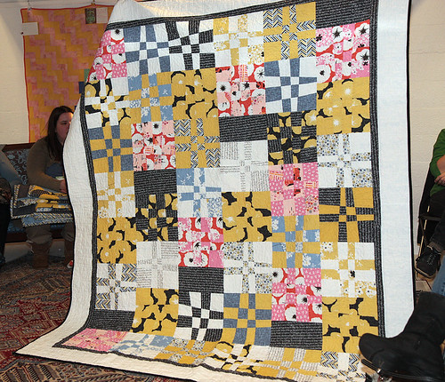 Tracy's Madrona Road Challenge quilt