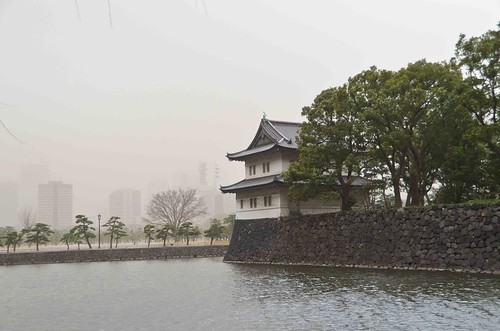 Tokyo Imperial Gardens Moat