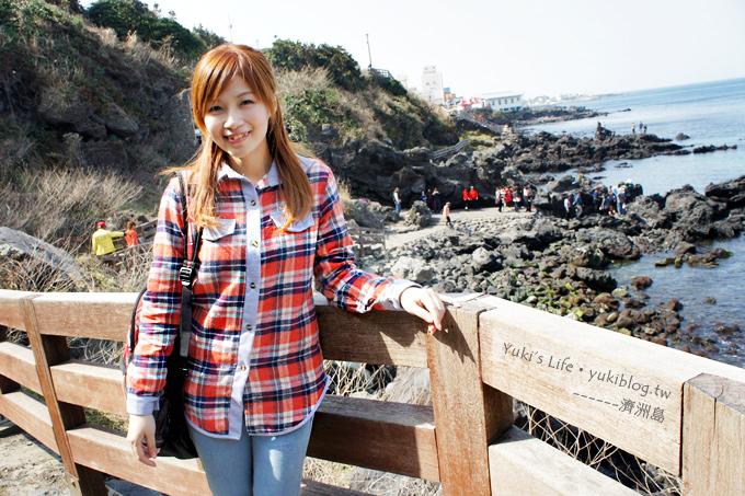 韓國濟洲島旅行【龍頭巖】天海一色.大家來找找傳說中的巨龍吧!