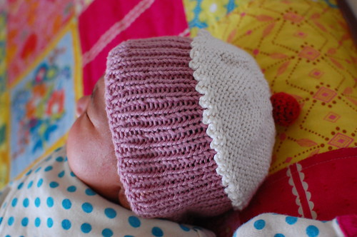 Cupcake baby hat by azmiat