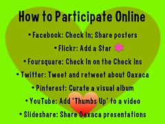 How to participate online #alltravelislocal #rtyear2013