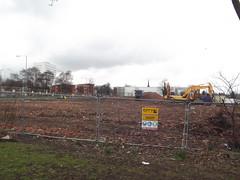 Demolished houses - Edgbaston Square