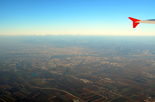 flying out of Vienna