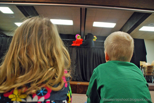 Puppets at Church
