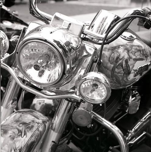 harley davidson chrome details