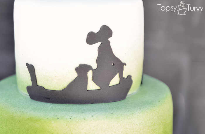 captain-hook-tigerlily-silhouette-shadow-ombre-fondant-birthday-cake