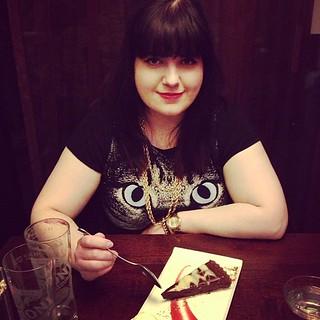 Stealing alis dessert #catboobs