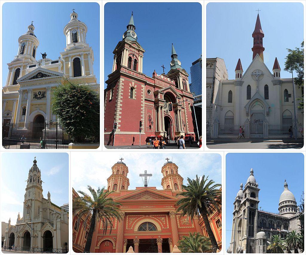 Santiago de Chile churches