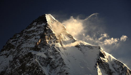 K2 (8611 m) at Sunrise, Karakorum
