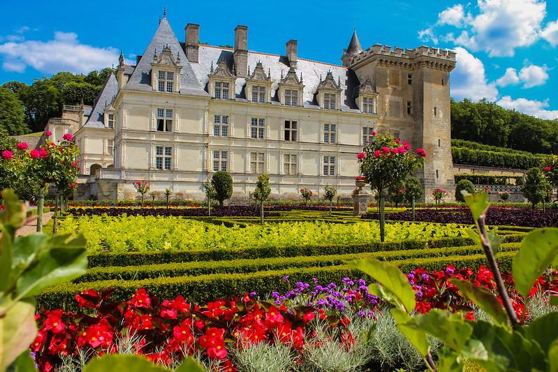 Castillo de Villandry y jardines