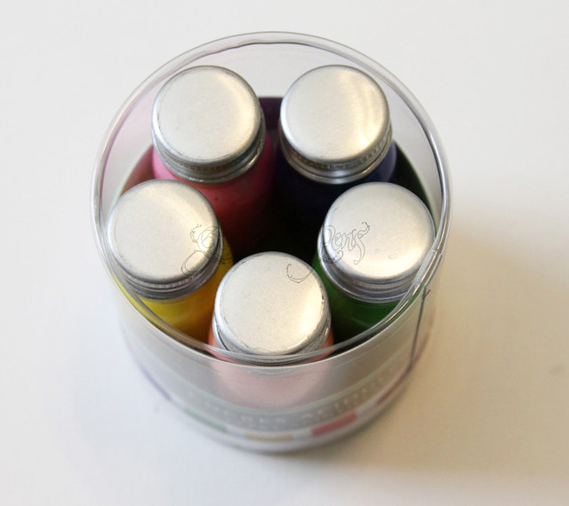 J. Herbin Pearlescent Ink Sampler Set Packaging