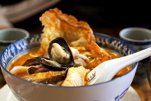 seafood laksa @ aux epices
