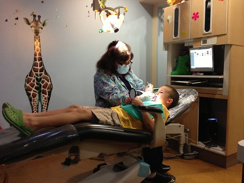 E at the dentist