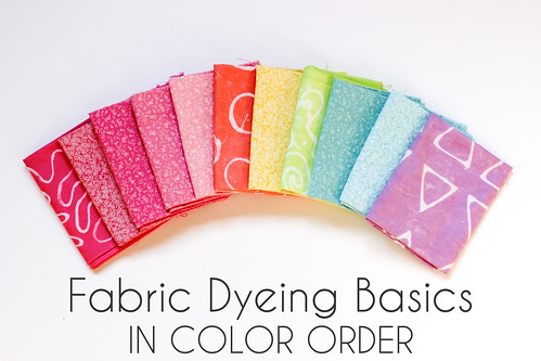 Fabric Dyeing Basics by Jeni Baker
