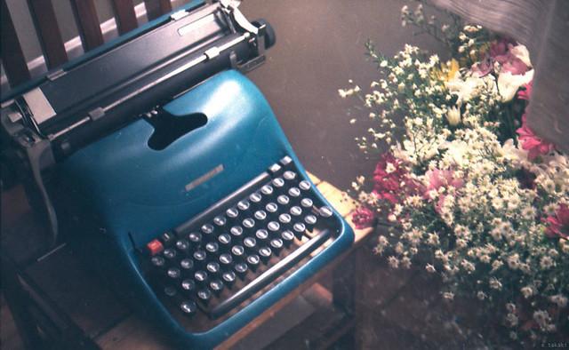 typewriter.