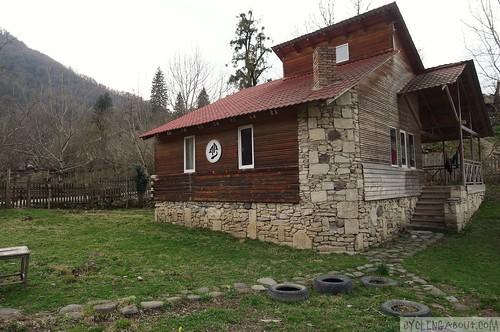 Marelisi log cabin in Borjomi national park
