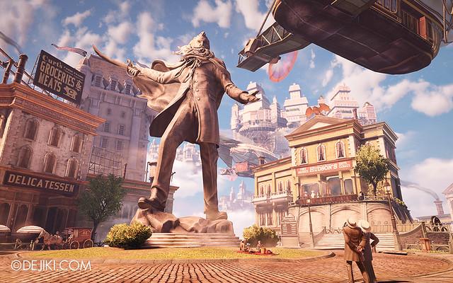 BioShock Infinite - Comstock statue