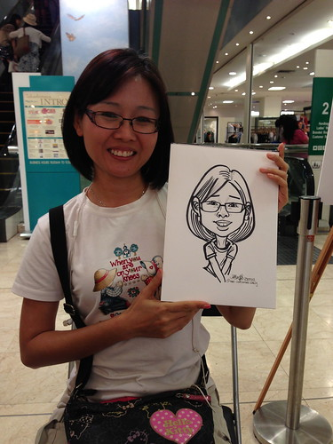 caricature live sketching for Takashimaya Good Friday Special - 37