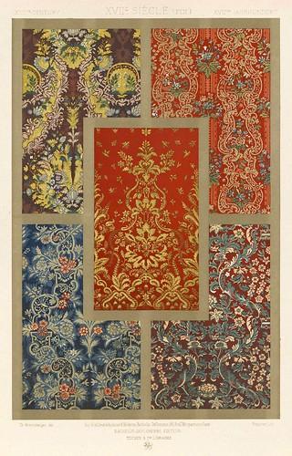 008-L'ornement des tissus recueil historique et pratique-Dupont-Auberville-1877- Biblioteca  Virtual del Patrimonio Bibliografico