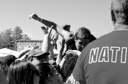 Four Year Strong Crowd- Mansfield, MA, Warped Tour 2016.