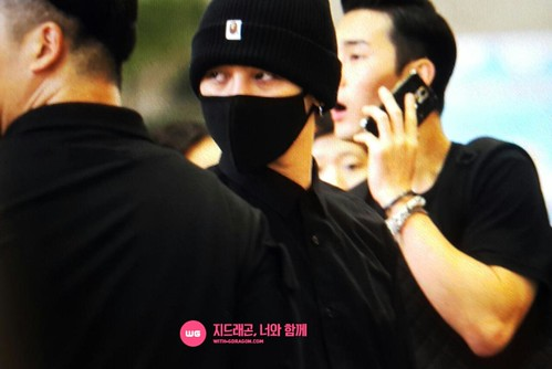 BIGBANG Departing Seoul to Osaka 2015-08-21