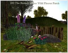 DD The Broken Fence Wild Flower Patch_001a
