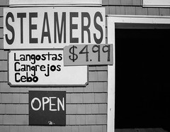 Steamers - BW