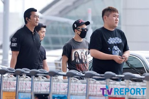 Big Bang - Incheon Airport - 26jun2015 - TV Report - 14