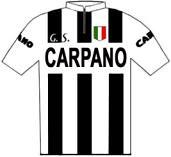 Carpano - Giro d'Italia 1960