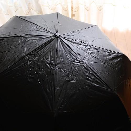 こちらは、日傘雨傘兼用です。