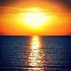 Burnham Sunset. #sunset #warm #beautiful #sea #beach #water #sky #goodtimes #euphoric #sun