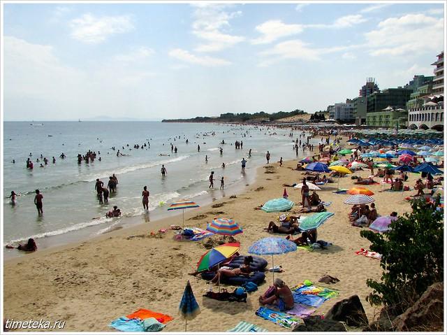 Несебр. Городской пляж