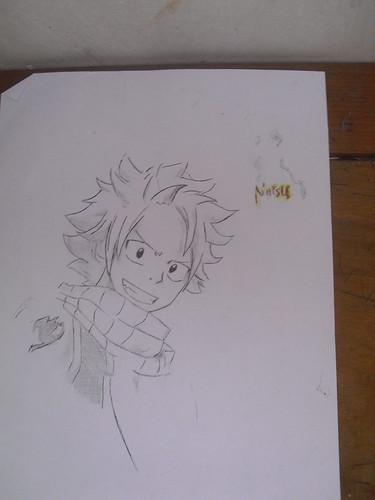 Drawing Natsu