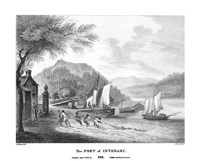 etching: The Port of Inverary