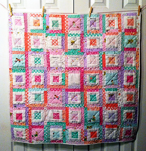 One Anothers Quilt - Sally's Angelworks