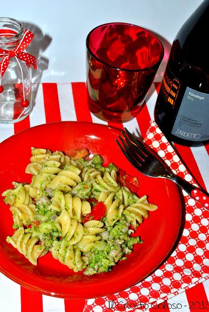 Fusilli con Broccoli e salsiccia (4)