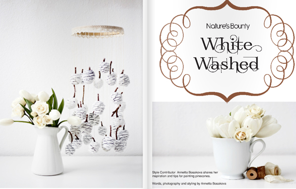 Winter White Issue of Gatherings Magazine | Emma Lamb