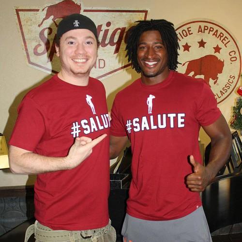 Andre Roberts - Arizona Cardinals - #Salute Shirt