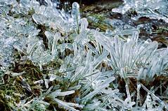 Icy Waterfall - Salcantay Mountain