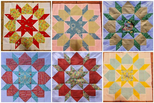 Swoon blocks...6 down, 3 to go!