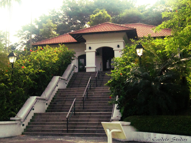 Fort Canning - Raffles House 01