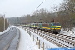2142 sncb technics ligne 139 archennes 18 janvier 2013
